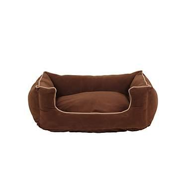Carolina Pet Company Brown Microfiber Kuddler Lounge Dog Bed