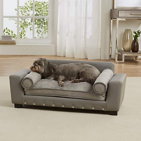Merveilleux Enchanted Home Pet Grey Scout Pet Sofa