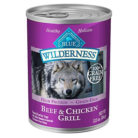 Blue Buffalo Blue Wilderness Beef & Chicken Grill Adult Wet Dog Food