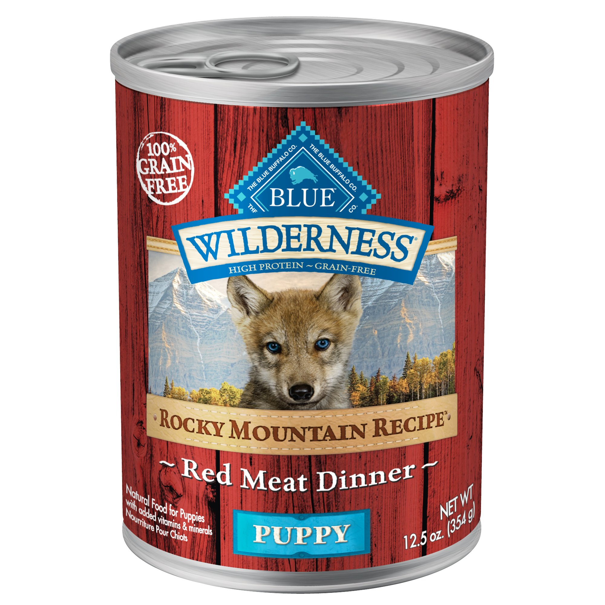 Blue Wilderness Rocky Mountain Red Meat Wet Cat Food  Oz