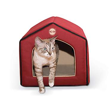 K&H Red and Tan Indoor Pet House