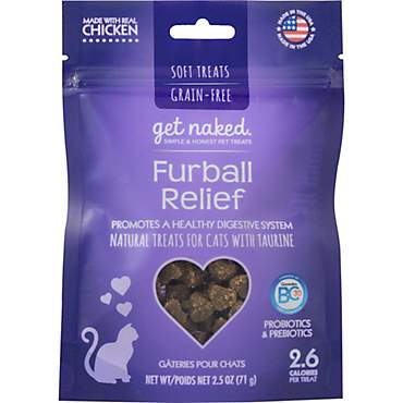 Get Naked Furball Relief Treats for Cats
