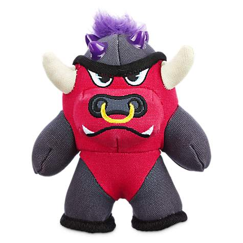 Leaps & Bounds Tough Plush Bull Dog Toy in Small