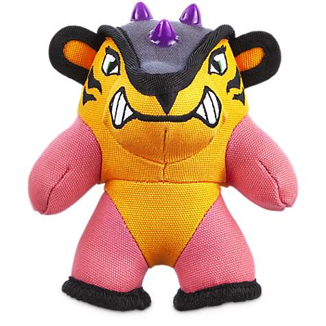 Leaps & Bounds Tough Plush Tigress Dog Toy in Small