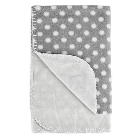 Harmony Cozy Sherpa Pet Throw in Polka Dot