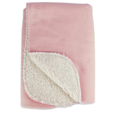 Harmony Cozy Sherpa Pet Throw in Pink