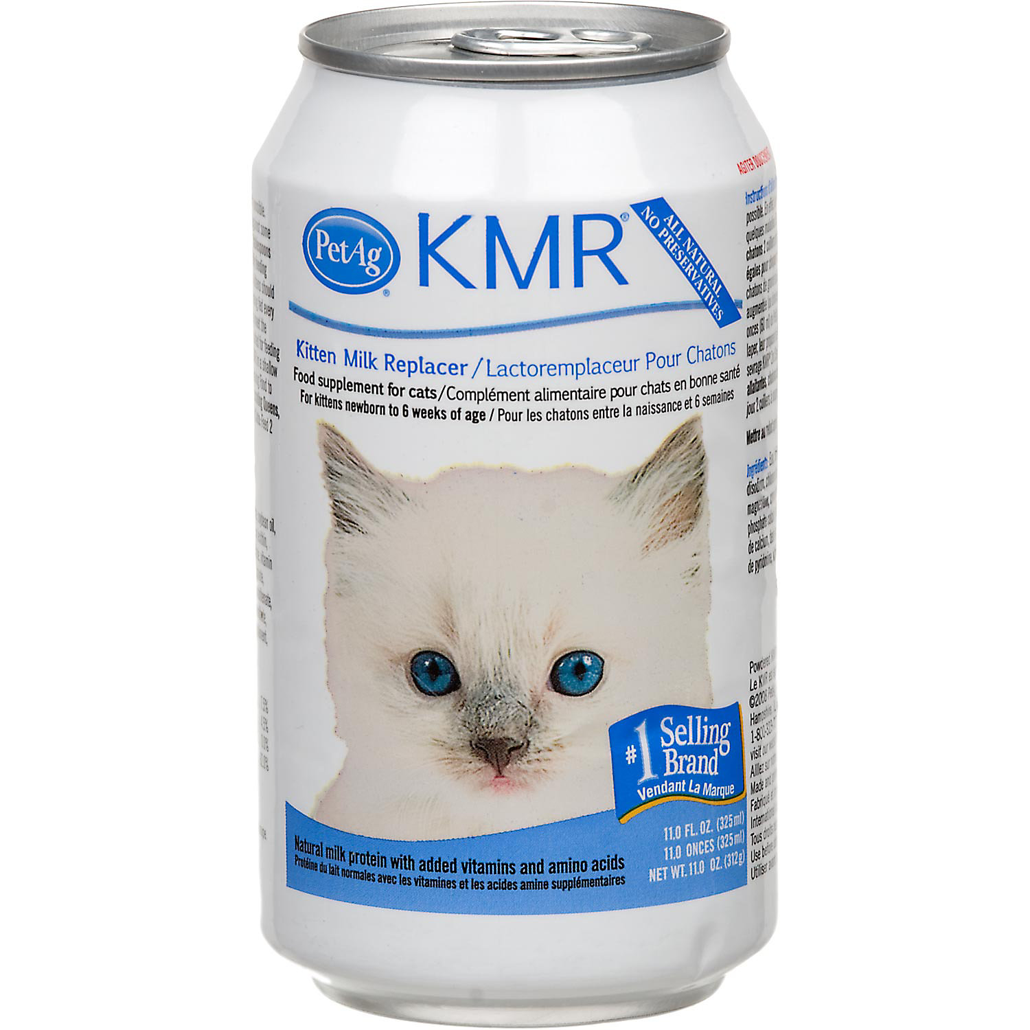Pet Ag Kmr Milk Replacer Food Supplement For Kittens Small Animals Liquid