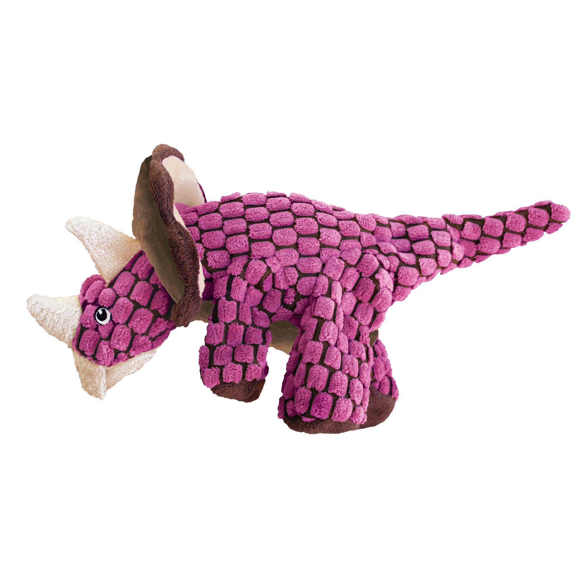 Pink Dog Toy : Kong dynos triceratops pink dog toy petco