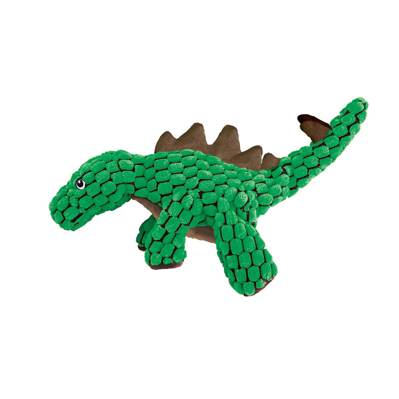 Kong Dynos Stegosaurus Green Dog Toy Large