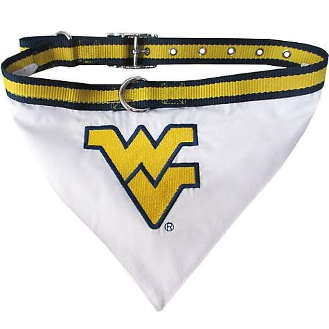 Pets First West Virginia Mountaineers Collar Bandana