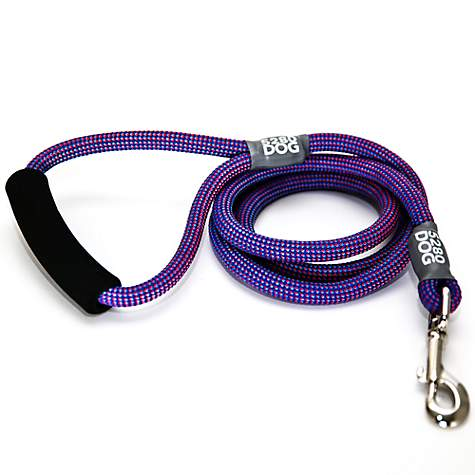 5280DOG Royal Blue Braided Rope Leash