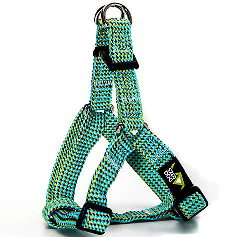 5280DOG Sea Green Braided Step-In Harness