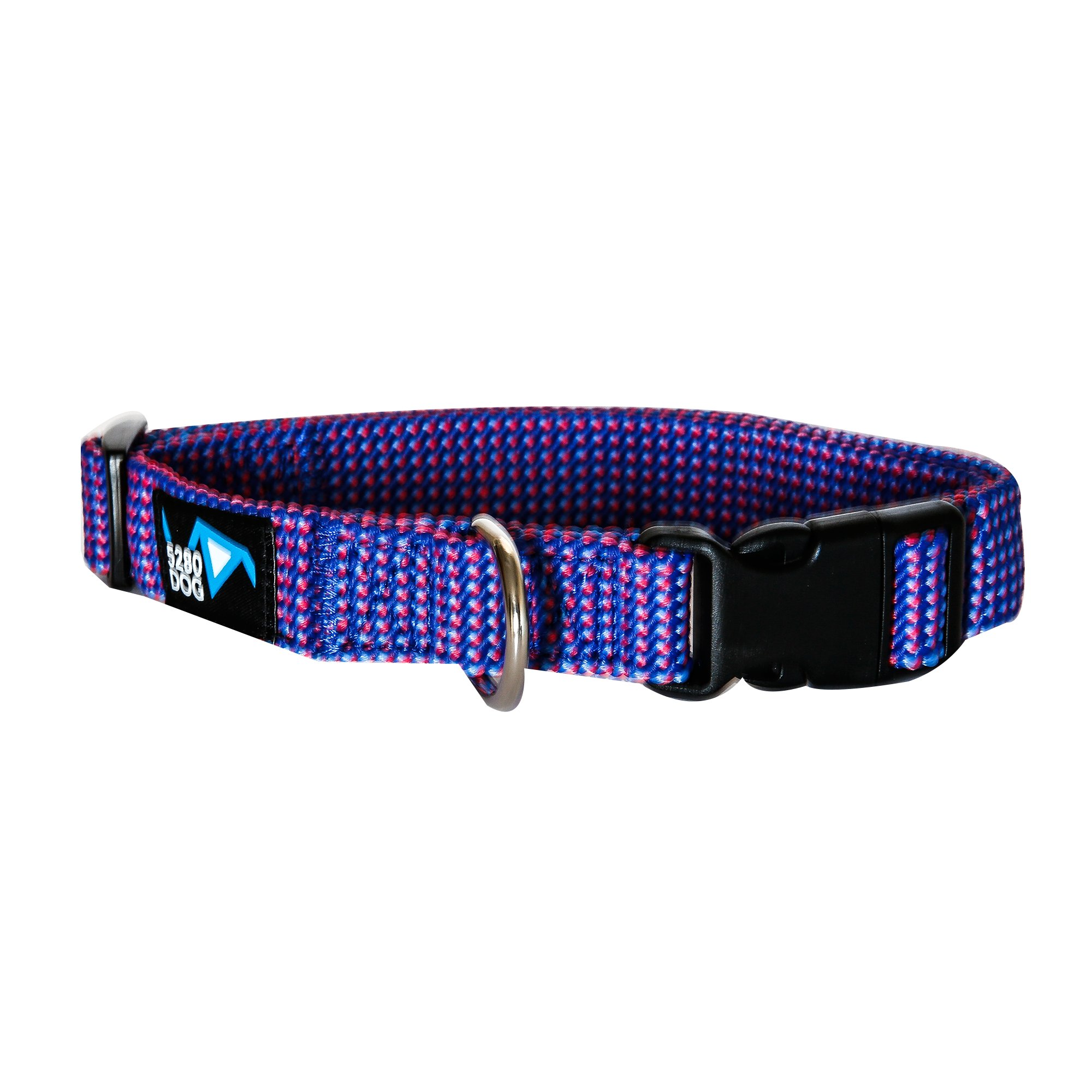 5280DOG Royal Blue Braided Collar, Large