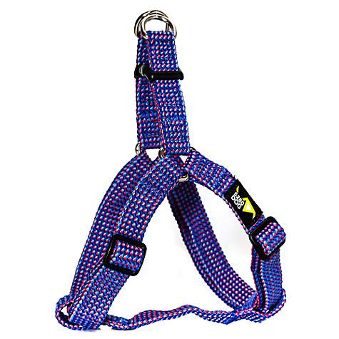 5280DOG Royal Blue Braided Step-In Harness