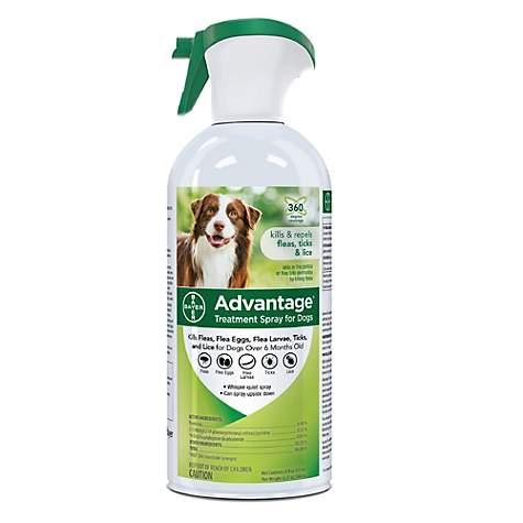 Advantage Flea Tick Treatment Spray For Dogs Petco