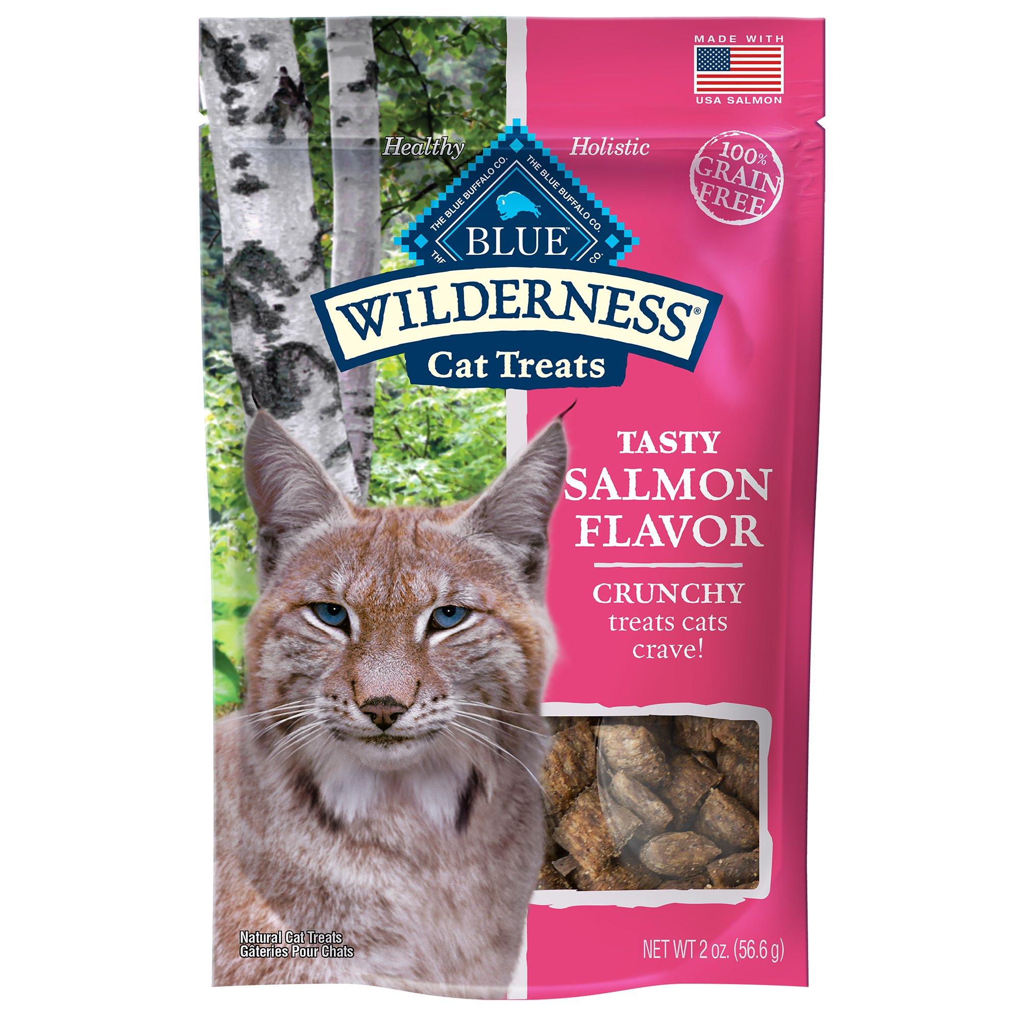 Blue Buffalo Blue Wilderness Salmon Flavor Crunchy Cat