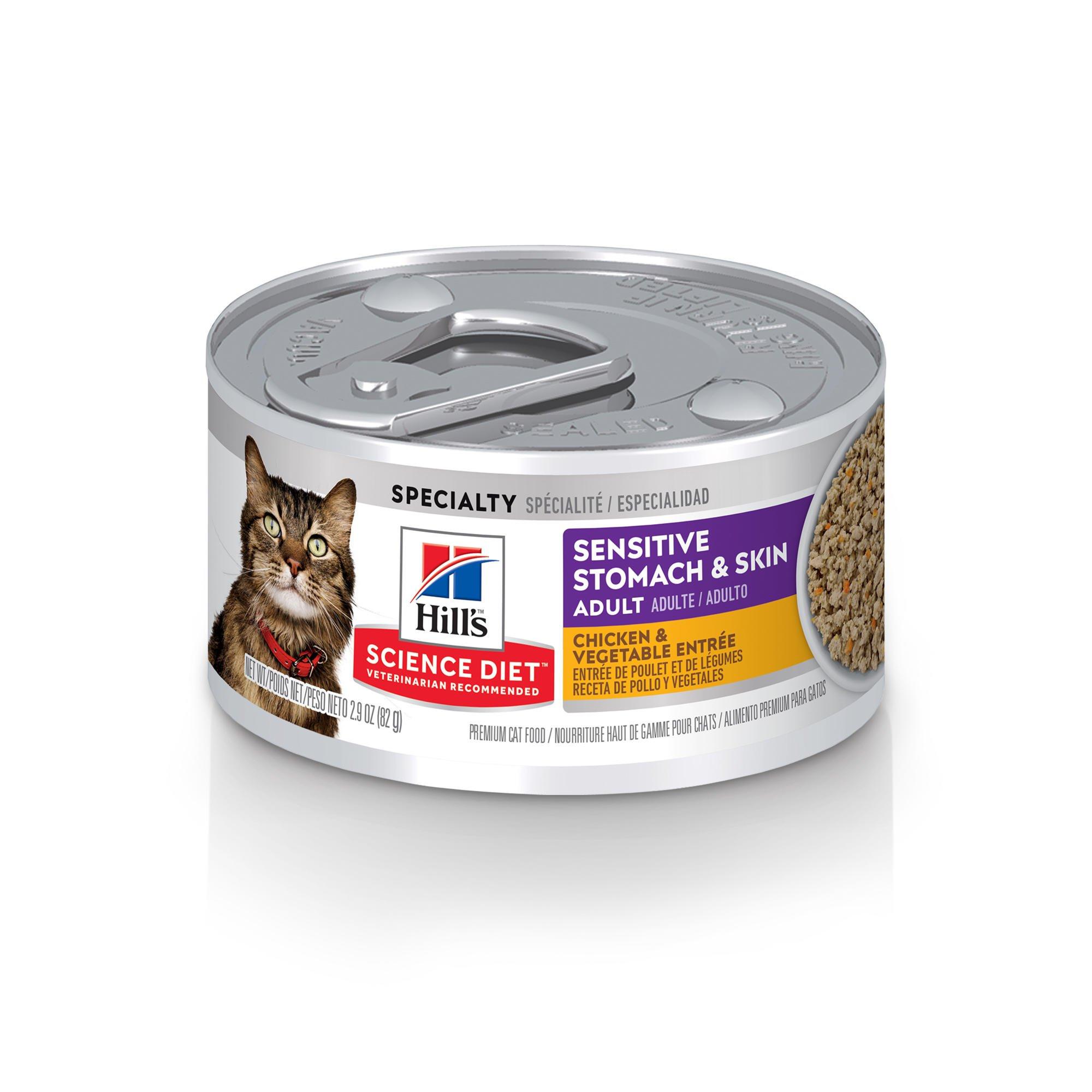 Science Diet Sensitive Stomach Wet Cat Food