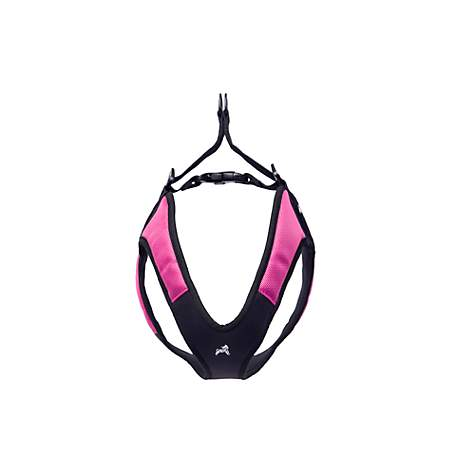 Gooby Escape Free Harness in Hot Pink