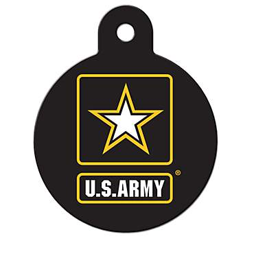 Fido Armed Forces Army ID Tag