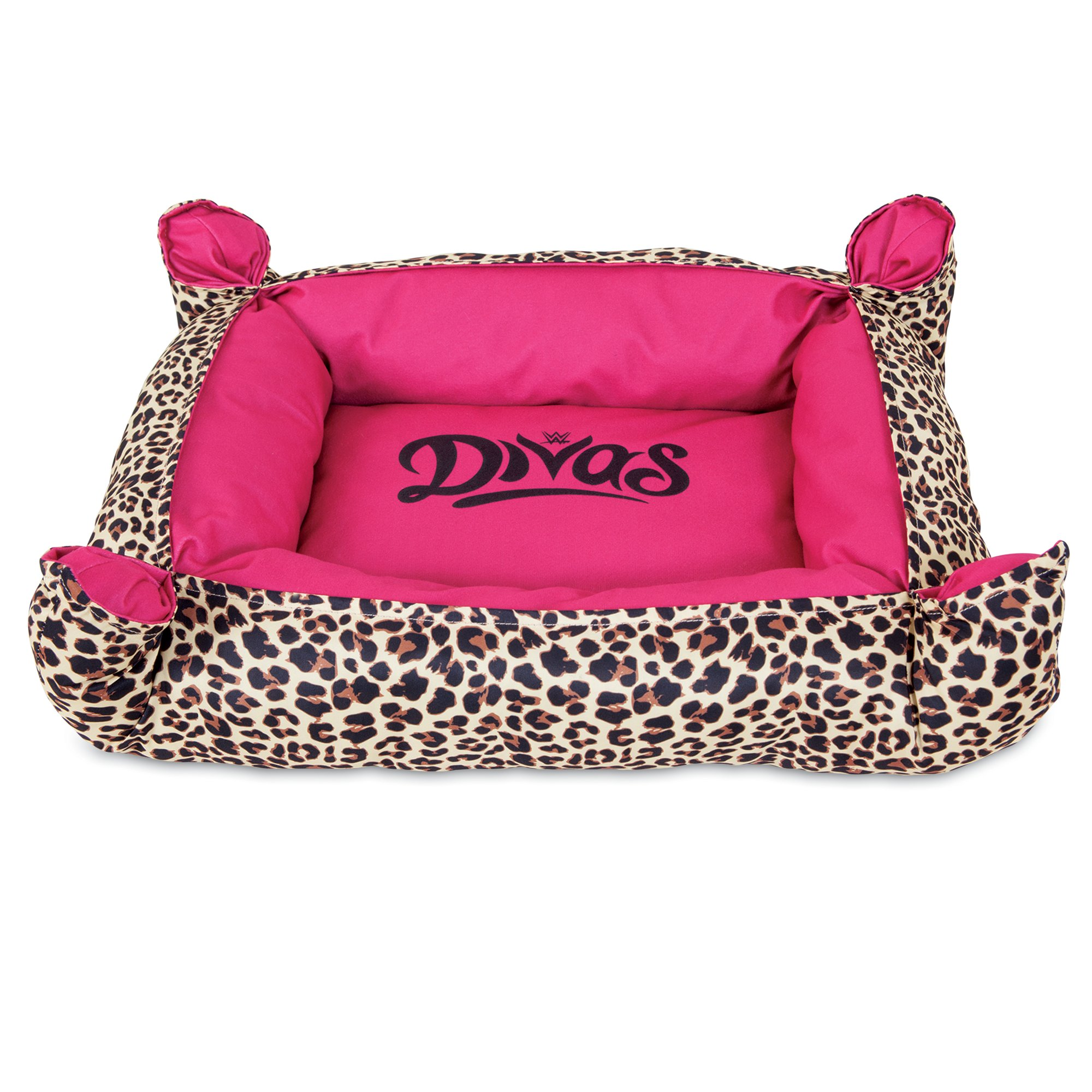 """Image of """"WWE Divas Pinched Cuddler Dog Bed in Pink, 19"""""""" L x 16"""""""" W, X-Small"""""""