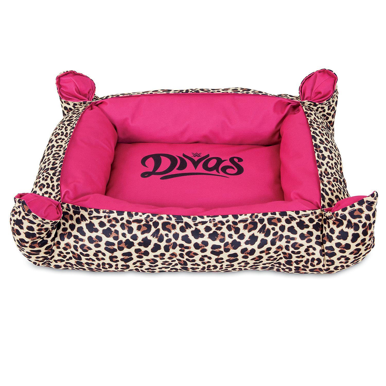 wwe divas cuddler dog bed in pink