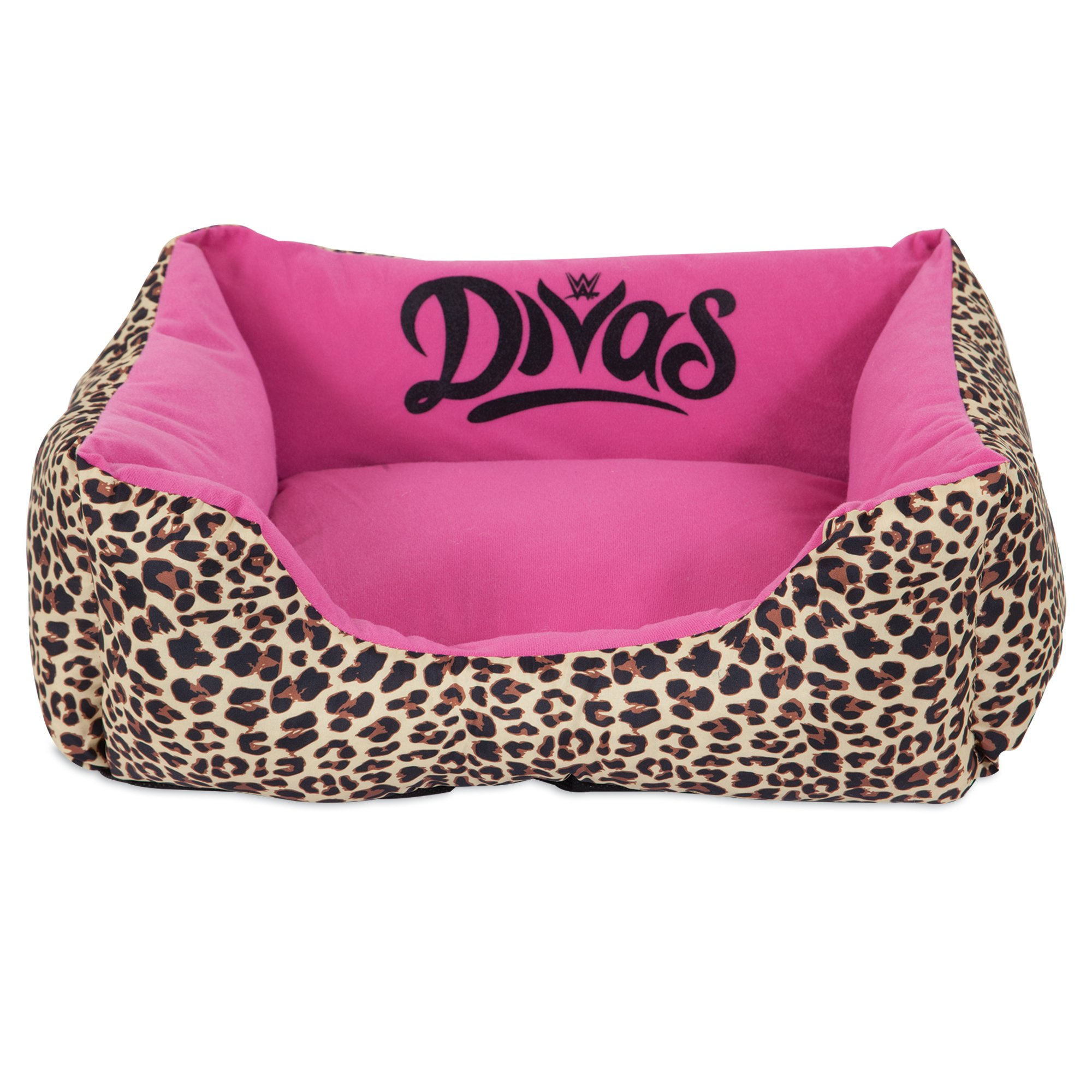 """Image of """"WWE Divas Cuddler Dog Bed in Pink, 20"""""""" L x 17"""""""" W, X-Small"""""""