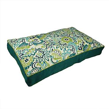 Snoozer Indoor Outdoor Rectangle Dog Bed in Zoe Pattern