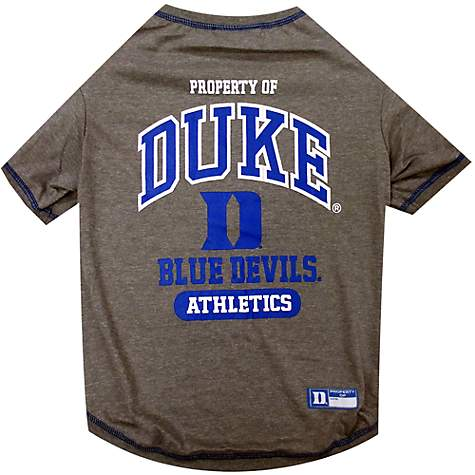 low priced bd7e9 4fa7f Pets First Duke Blue Devils NCAA T-Shirt for Dogs, X-Small