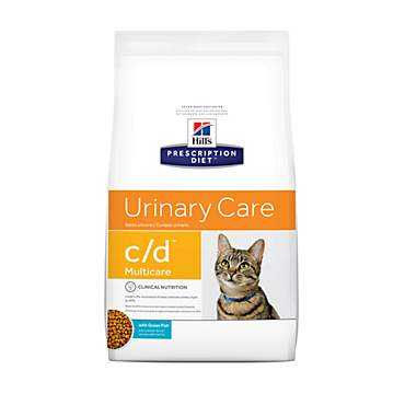 Hill's Prescription Diet c/d Multicare Urinary Care with Ocean Fish Dry Cat Food