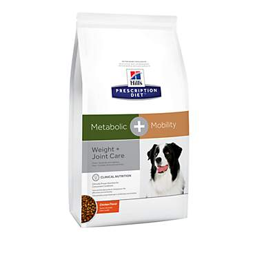 Hill's Prescription Diet Metabolic + Mobility, Weight + Joint Care Chicken Flavor Dry Dog Food