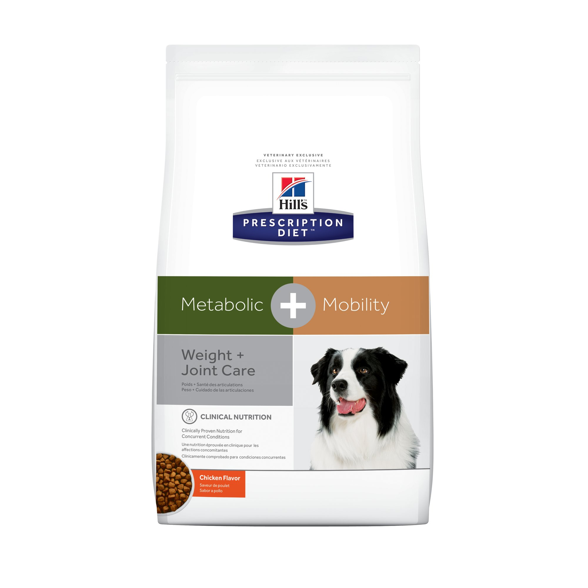 Prescription Diet Dog Food >> Hill's Prescription Diet Metabolic + Mobility, Weight ...
