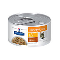 Hill's Prescription Diet c/d Multicare Urinary Care Chicken & Vegetable Stew Canned Cat Food