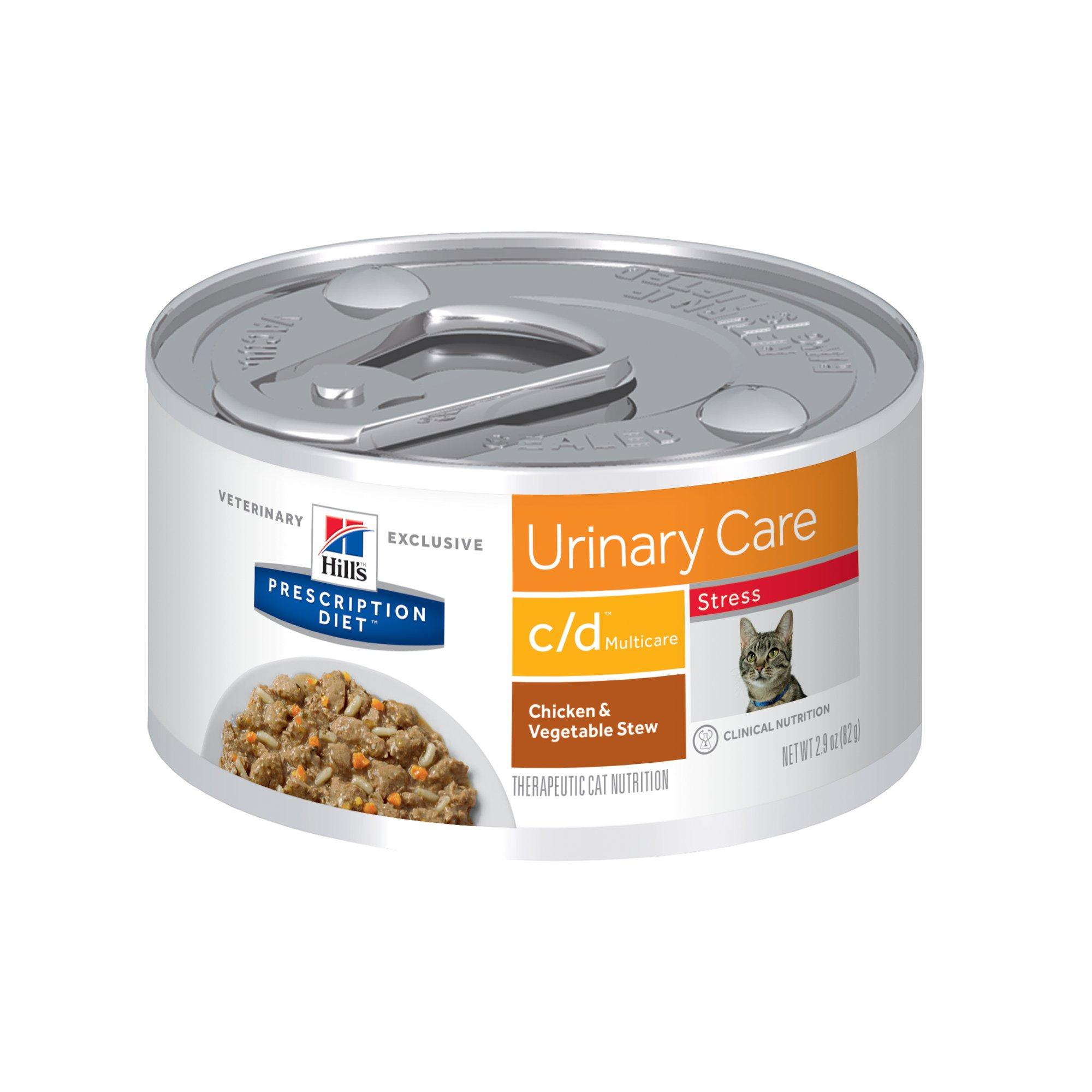 Hill S Prescription Diet C D Multicare Stress Urinary Care