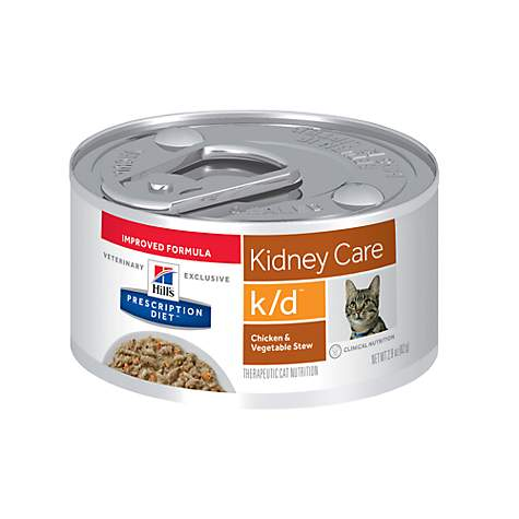Hill S Prescription T K D Kidney Care En Vegetable Stew Canned Cat Food
