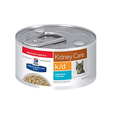 Hill S Prescription T K D Kidney Care Vegetable Tuna Rice Stew Canned Cat