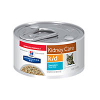 Hill's Prescription Diet k/d Kidney Care Vegetable & Tuna Stew Canned Cat Food