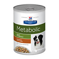 Hill's Prescription Diet Metabolic Weight Management Vegetable & Chicken Stew Canned Dog Food