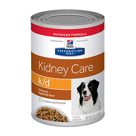 Hill's Prescription Diet k/d Kidney Care Chicken & Vegetable Stew Canned Dog Food