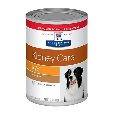 Hill's Prescription Diet k/d Kidney Care with Lamb Canned Dog Food