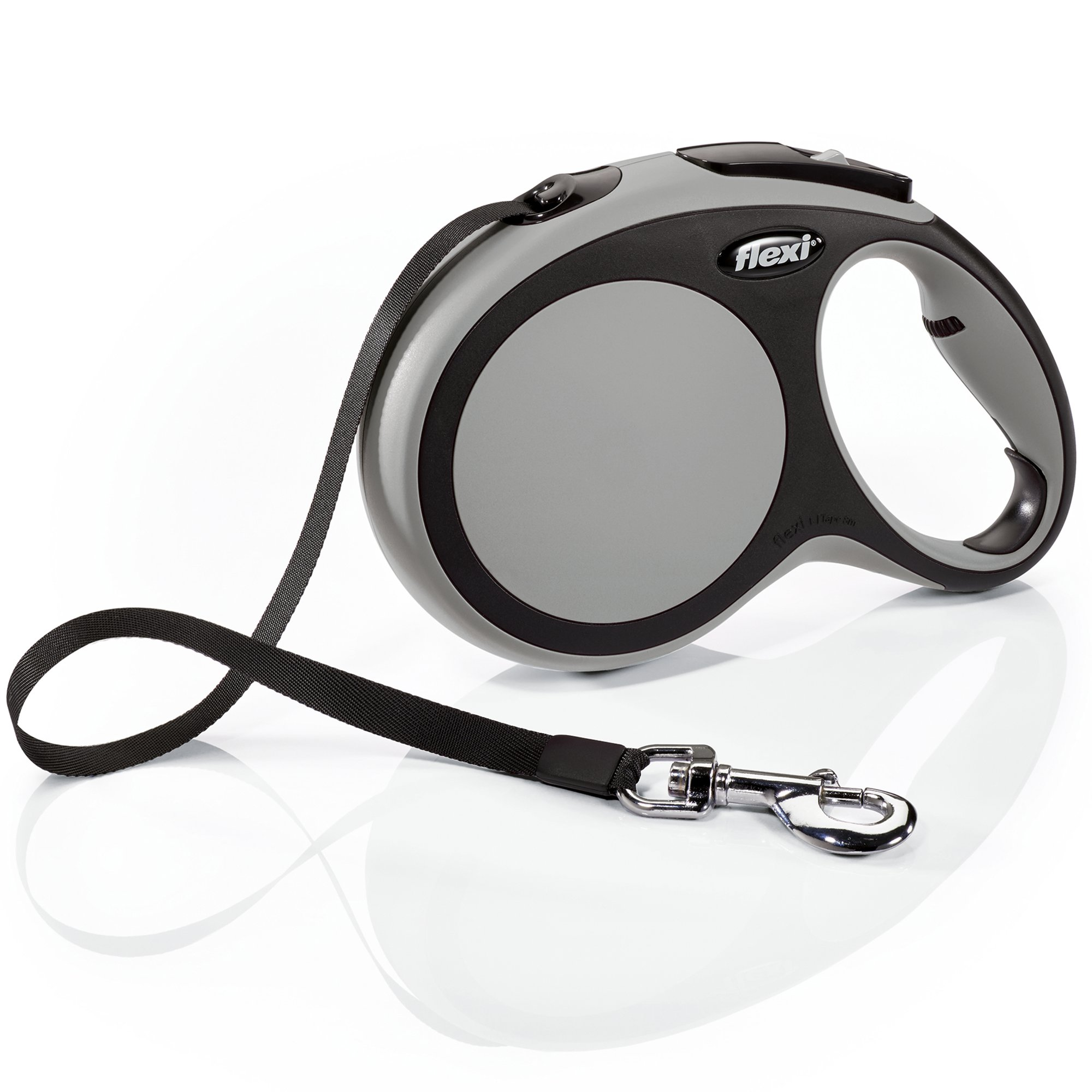 Flexi Comfort Retractable Dog Leash in Grey, 26' | Petco at Petco in Braselton, GA | Tuggl