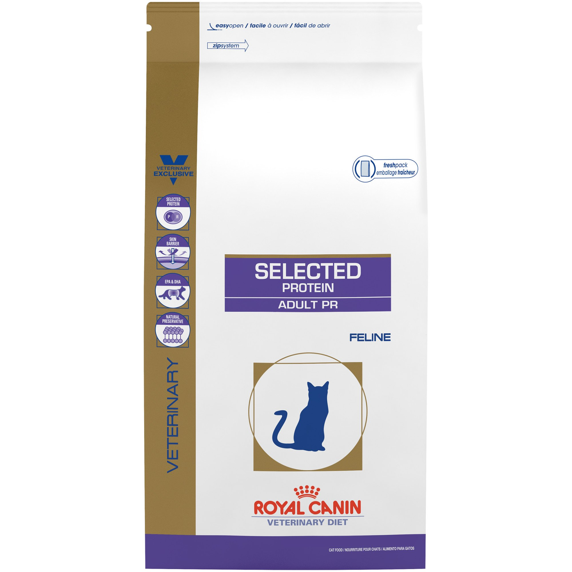 royal canin veterinary diet feline selected protein adult. Black Bedroom Furniture Sets. Home Design Ideas