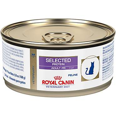 Royal Canin Veterinary Diet Feline Selected Protein Adult Pr In Gel Canned Cat Food