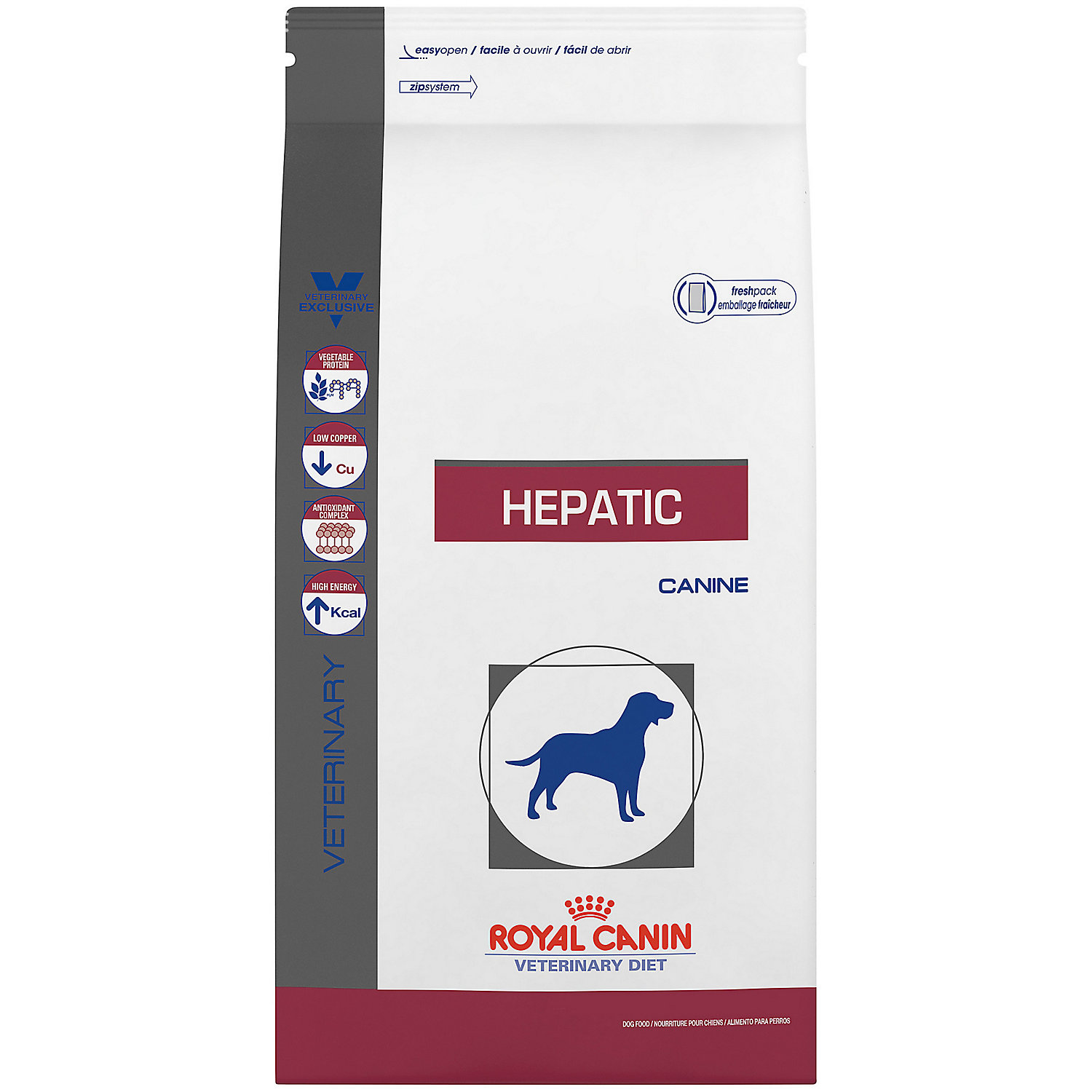 Image of Royal Canin Veterinary Diet Canine Hepatic Dry Dog Food