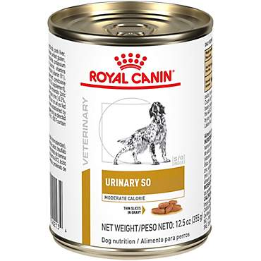 Royal Canin Veterinary Diet Canine Urinary SO Moderate Calorie Morsels In Gravy Wet Dog Food