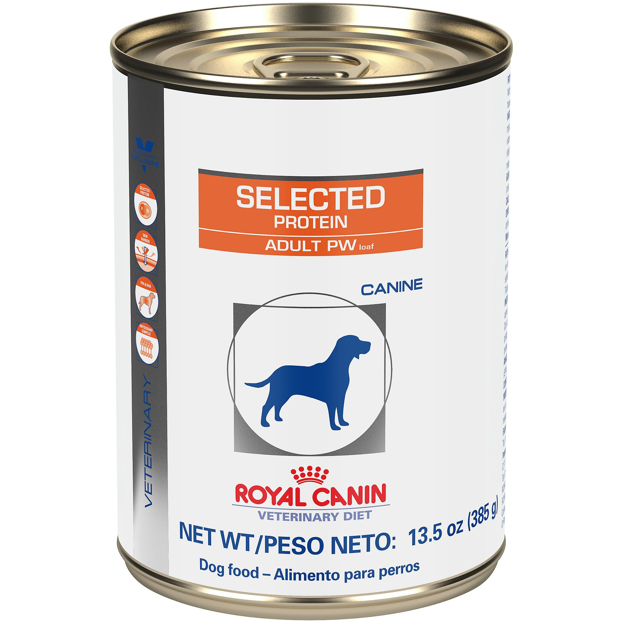 royal canin veterinary diet canine selected protein adult pw in gel wet dog food petco. Black Bedroom Furniture Sets. Home Design Ideas