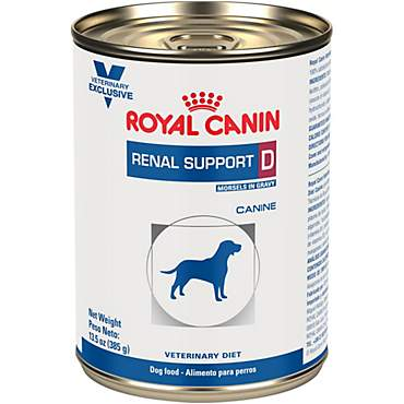 Royal Canin Veterinary Diet Canine Renal Support D Morsels In Gravy Wet Dog Food