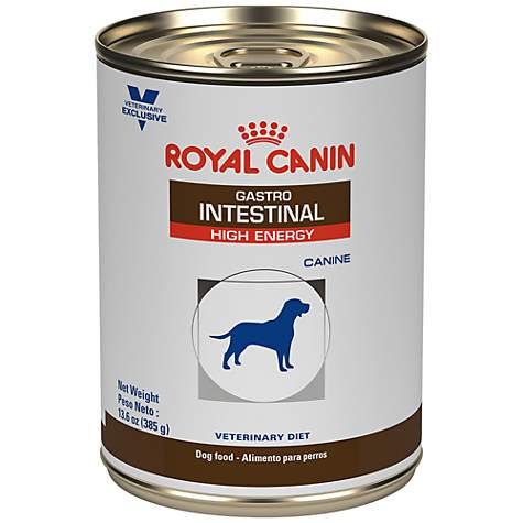 Royal Canin Veterinary Diet Canine Gastrointestinal High Energy In Gel Wet Dog Food