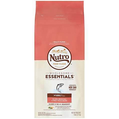NUTRO WHOLESOME ESSENTIALS Salmon, Brown Rice & Sweet Potato Recipe Dry Adult Dog Food
