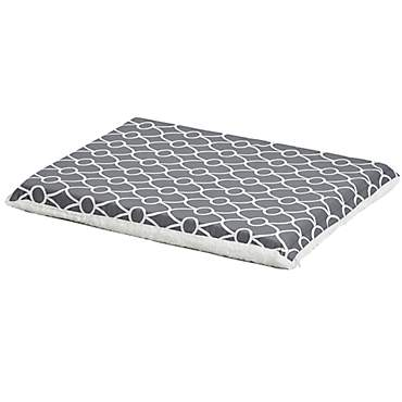 Midwest QuietTime Defender Series Reversible Crate Grey Mat for Dogs