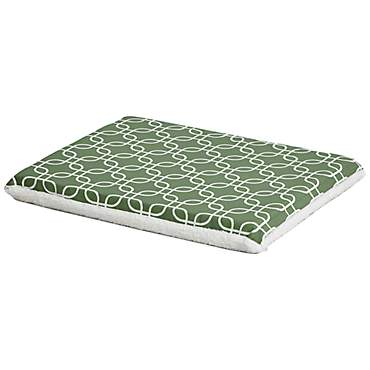 Midwest QuietTime Defender Series Reversible Crate Green Mat for Dogs